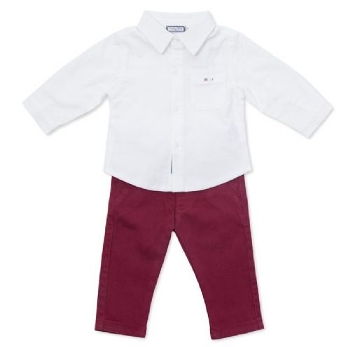 BabyBol Collared Shirt & Trousers